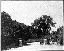Photo of Entrance to Arnold Arboretum, Boston