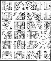 Plan of Street Arrangements, Washington, D. C.