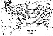 Plan of Lakewood Subdivision, Madison