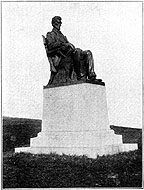 Photo of The Lincoln Statue, Wisconsin State University