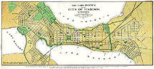 Map: The Park System of the City of Madison, Wisconsin