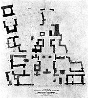 Drawing of Plan for Princeton University
