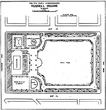 Drawing of Russell Square Playground, Chicago