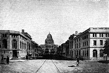 Drawing of State Street, Madison, as proposed