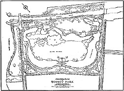 Drawing of Tenney Park, Madison