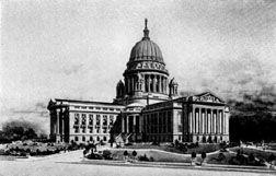 Drawing of the New Wisconsin Capitol