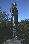 Color photo of statue, small version.