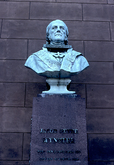 Color photo of bust, larger version.