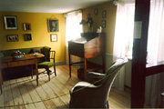 Color photo of interior, small version.