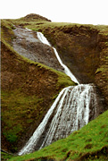 Color photo of waterfall, small version.