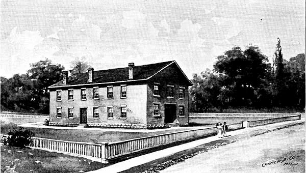 Image of THE UNIVERSITY'S FIRST HOME