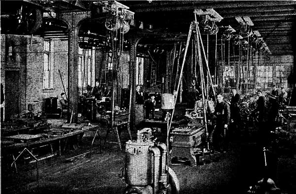 Image of MACHINE ROOM IN SHOP