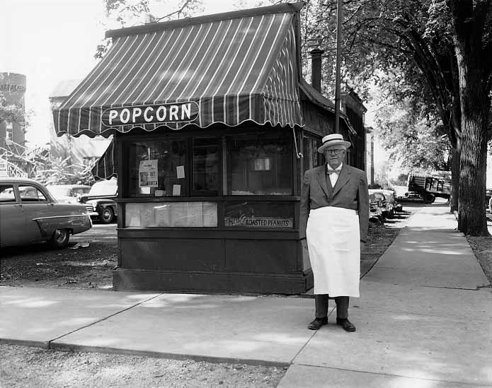 Image of Popcorn Vendor
