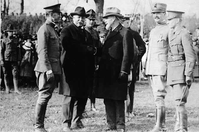 Image of Van Hise and W.H. Taft