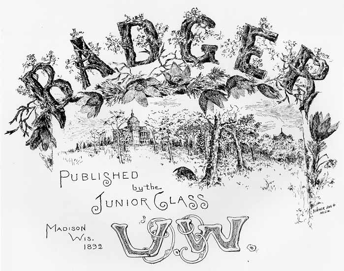 Image of Title Page 1893 Badger, Frontispiece