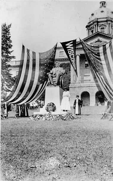 Image of Dedication of Lincoln Statue 1909