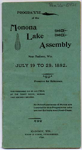 Image of Monona Lake Assembly