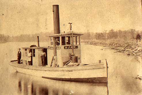 Image of Ajax on Wolf River