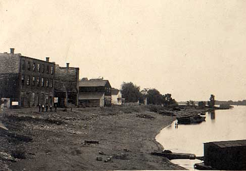 Image of Prescott Levee in 1908