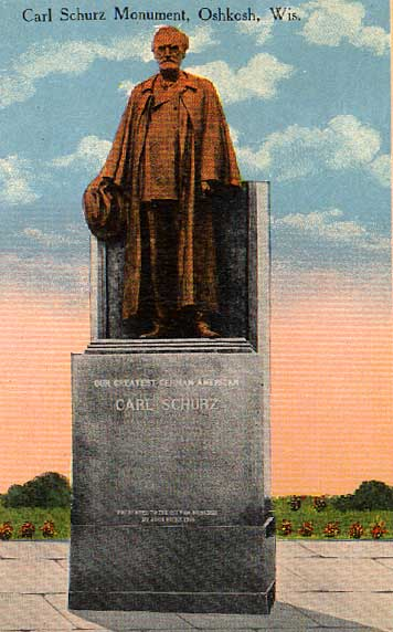 Image of Carl Schurz Monument