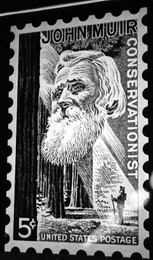 Image of John Muir Stamp