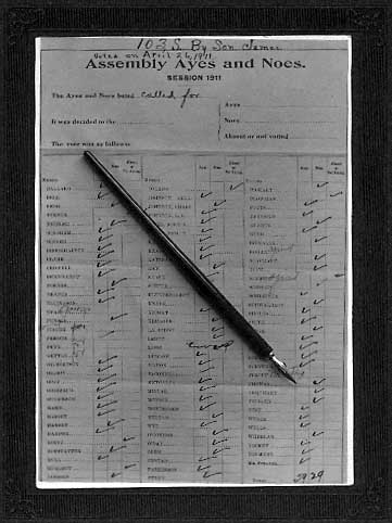 Image of Voting record