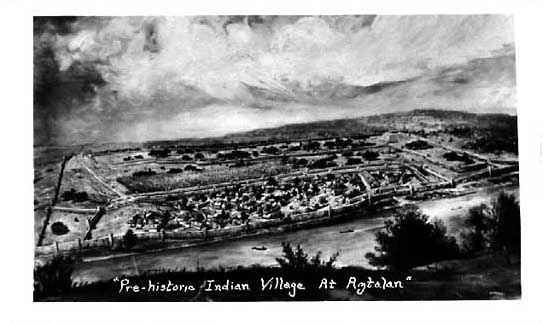 Image of Aztalan Indian Village