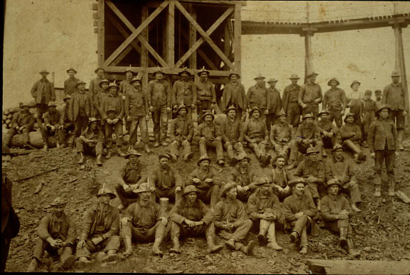 Image of Germania Mine Workers