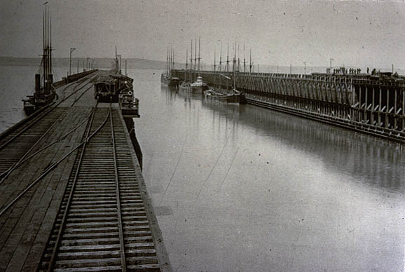 Image of Ore docks