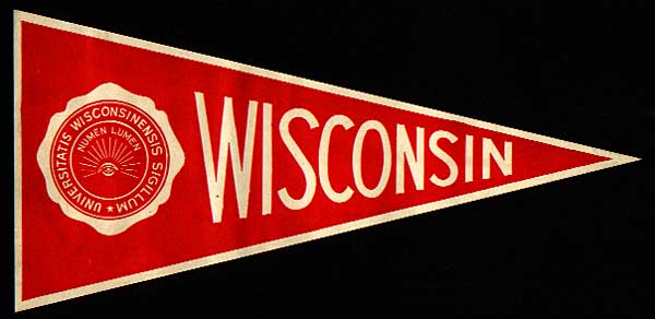 Image of Wisconsin Pennant