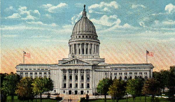 Image of Wisconsin's State Capitol