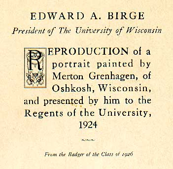 Image of E. A. Birge
