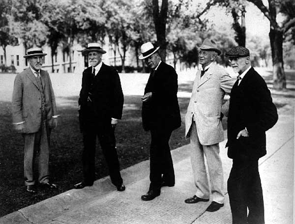 Image of  Chamberlin, Van Hise, Russell, Henry, Babcock