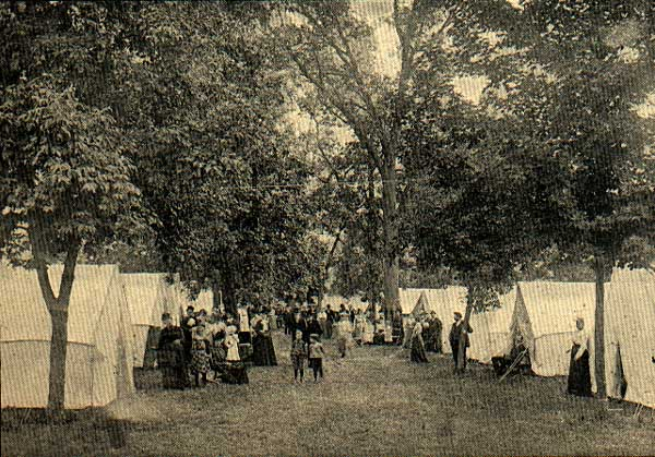 Image of Tent Life