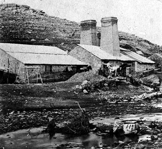 Image of Blast Furnace of the 1850's