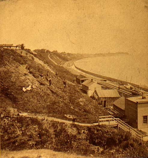 Image of Lake Michigan Shore Bluffs