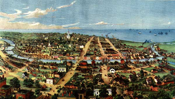 Image of Bird's-eye View of Milwaukee