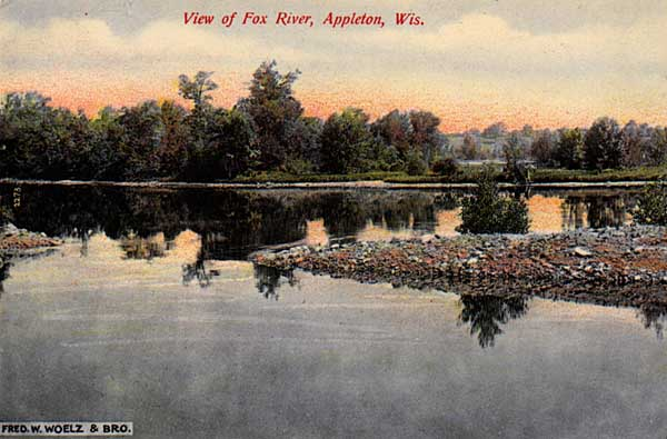 Image of View of Fox River