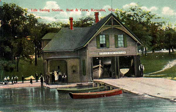 Image of Life-Saving Station, Kenosha