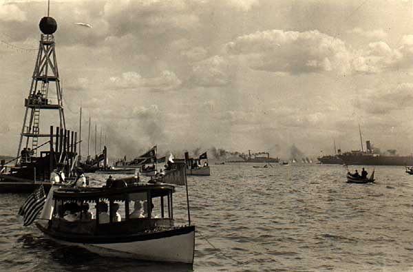 Image of Regatta at Bayfield, Wisconsin