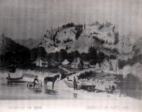 Image of Cassville, Wisconsin