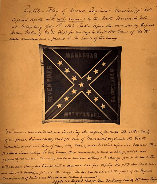 Image of Confederate Battle Flag