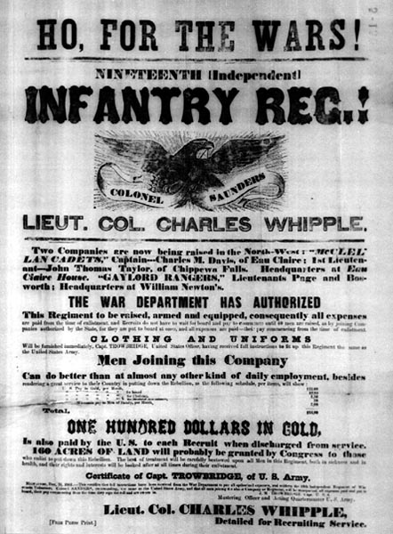 Image of Infantry Recruitment Poster
