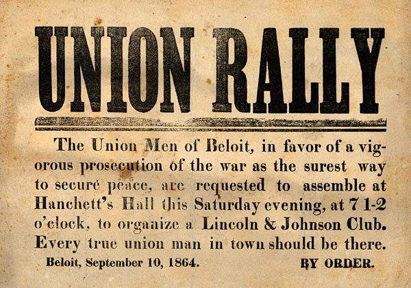 Image of Union Rally
