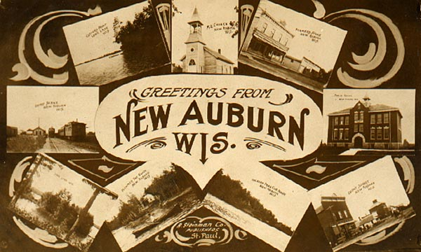 Image of Greetings from New Auburn