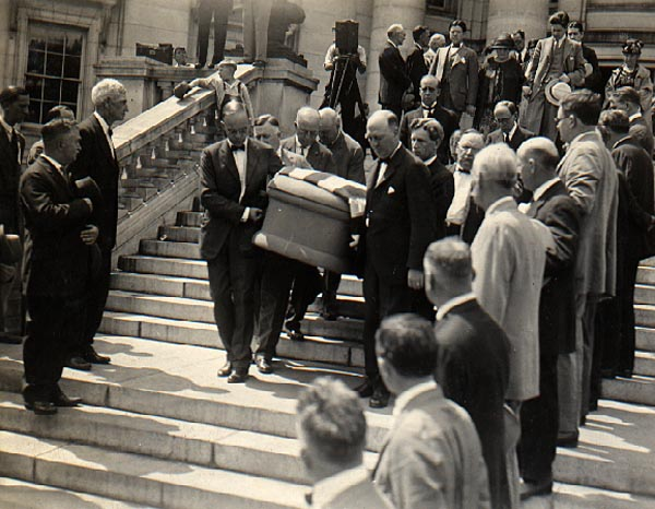 Image of Robert La Follette's Funeral