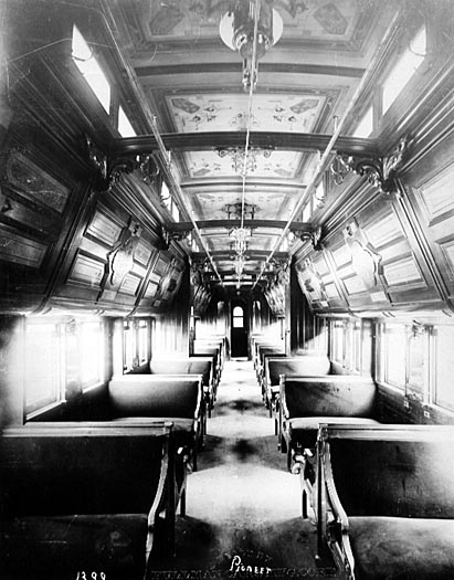 Image of Pullman Sleeping Car Interior