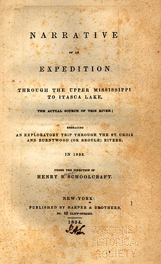 Image of Expedition Through the Upper Mississippi