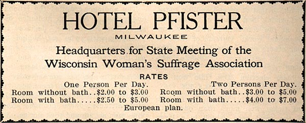 Image of Hotel Pfister Ad