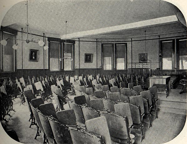 Image of Lecture Room, Law Building